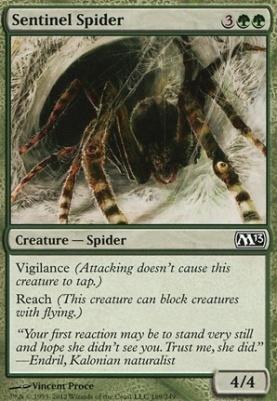 2013 Core Set: Sentinel Spider