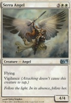 2013 Core Set Foil: Serra Angel