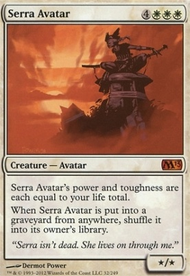 Magic: the Gathering - Magic 2013 Serra Avatar 32