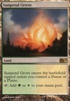 2013 Core Set Foil: Sunpetal Grove
