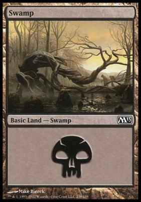 2013 Core Set: Swamp (238 A)