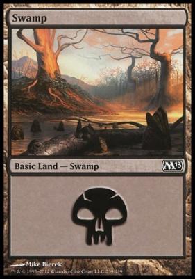 2013 Core Set: Swamp (239 B)