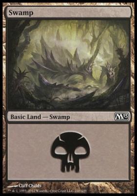 2013 Core Set: Swamp (240 C)