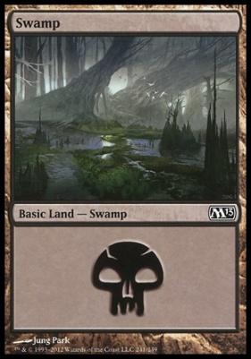 2013 Core Set: Swamp (241 D)