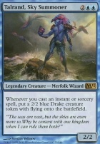 2013 Core Set Foil: Talrand, Sky Summoner