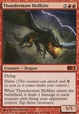 2013 Core Set: Thundermaw Hellkite