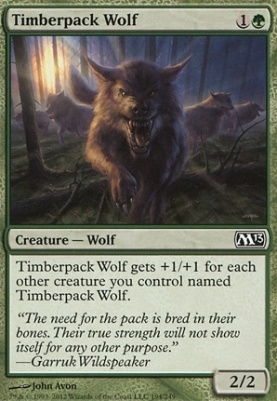 2013 Core Set: Timberpack Wolf