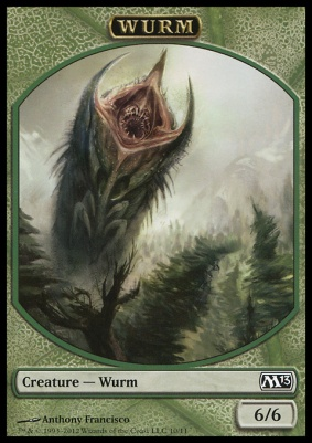 2013 Core Set: Wurm Token