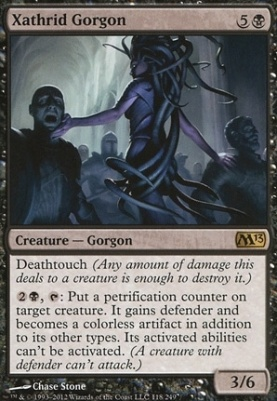 2013 Core Set: Xathrid Gorgon