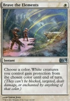 2014 Core Set Foil: Brave the Elements