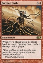 2014 Core Set Foil: Burning Earth