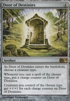 2014 Core Set Foil: Door of Destinies