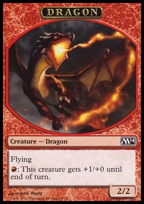 2014 Core Set: Dragon Token