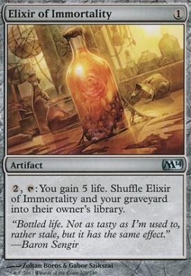 2014 Core Set: Elixir of Immortality