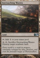 2014 Core Set Foil: Encroaching Wastes