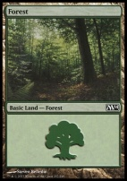 2014 Core Set: Forest (247 B)