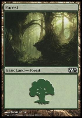 2014 Core Set: Forest (248 C)