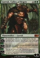 2014 Core Set: Garruk, Caller of Beasts