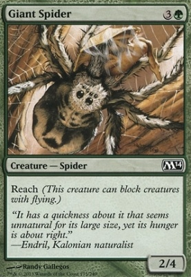 2014 Core Set Foil: Giant Spider