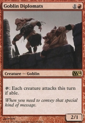 2014 Core Set: Goblin Diplomats