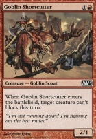 2014 Core Set Foil: Goblin Shortcutter