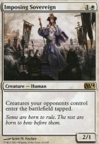 2014 Core Set Foil: Imposing Sovereign