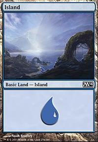 2014 Core Set: Island (234 A)