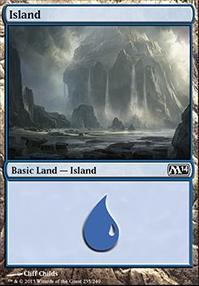 2014 Core Set: Island (235 B)