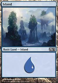 2014 Core Set Foil: Island (237 D)