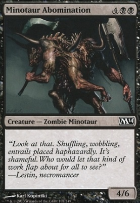 2014 Core Set: Minotaur Abomination