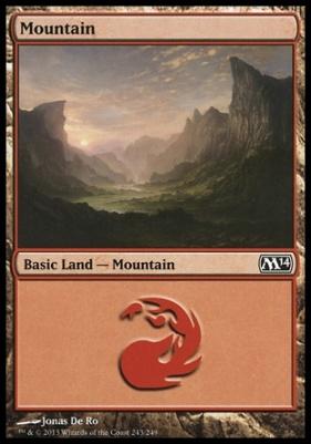 2014 Core Set: Mountain (243 B)