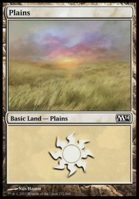 2014 Core Set: Plains (232 C)