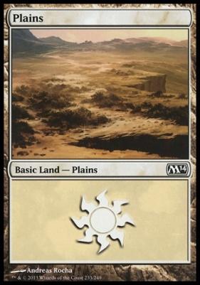 2014 Core Set: Plains (233 D)