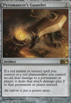 2014 Core Set Foil: Pyromancer's Gauntlet