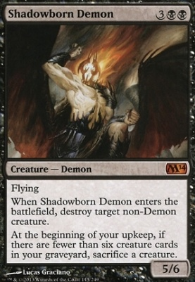 2014 Core Set: Shadowborn Demon