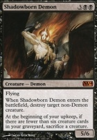 2014 Core Set Foil: Shadowborn Demon