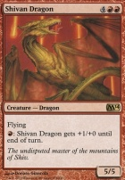 2014 Core Set: Shivan Dragon