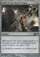 2014 Core Set Foil: Staff of the Death Magus