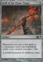 2014 Core Set: Staff of the Flame Magus