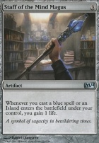 2014 Core Set: Staff of the Mind Magus