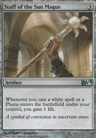 2014 Core Set: Staff of the Sun Magus