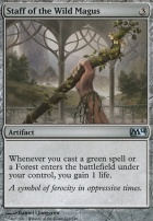 2014 Core Set: Staff of the Wild Magus