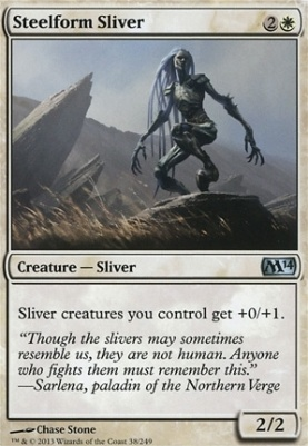 2014 Core Set: Steelform Sliver