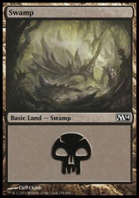 2014 Core Set: Swamp (238 A)