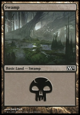2014 Core Set: Swamp (240 C)