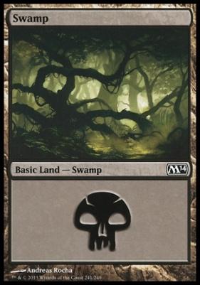 2014 Core Set: Swamp (241 D)