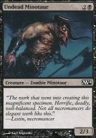 2014 Core Set: Undead Minotaur