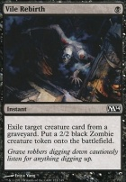 2014 Core Set: Vile Rebirth