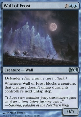 2014 Core Set Foil: Wall of Frost