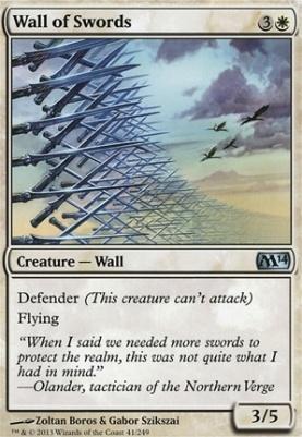 2014 Core Set: Wall of Swords